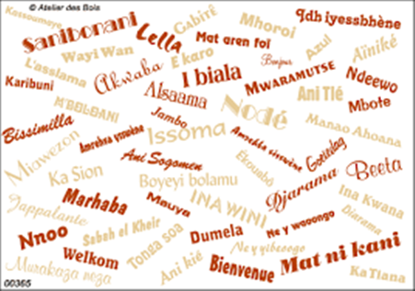 "How to say ""hello"" in Sundry African languages per country"