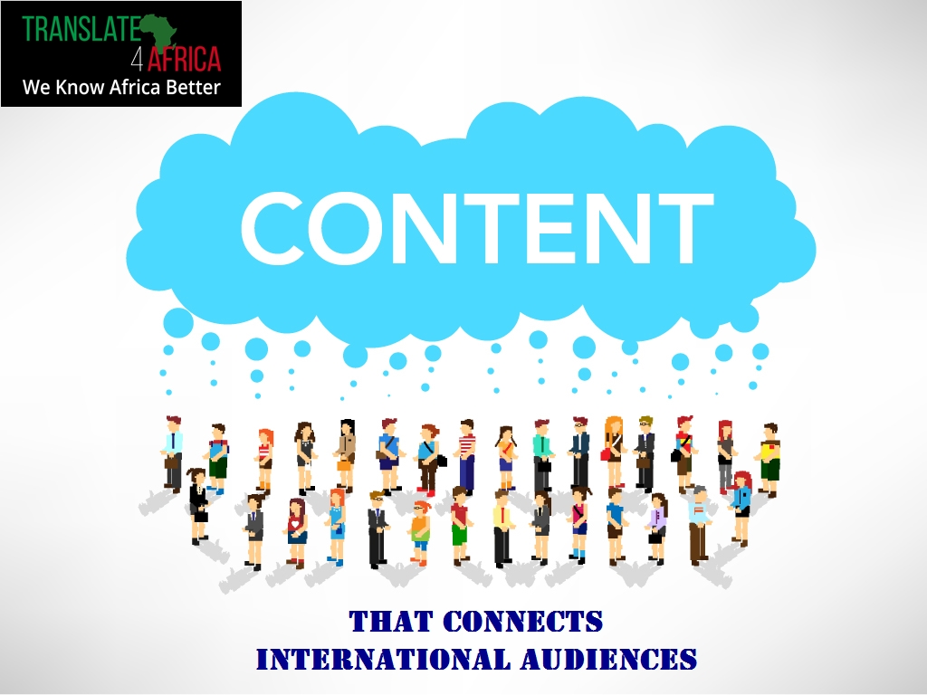 Content that connects international audiences